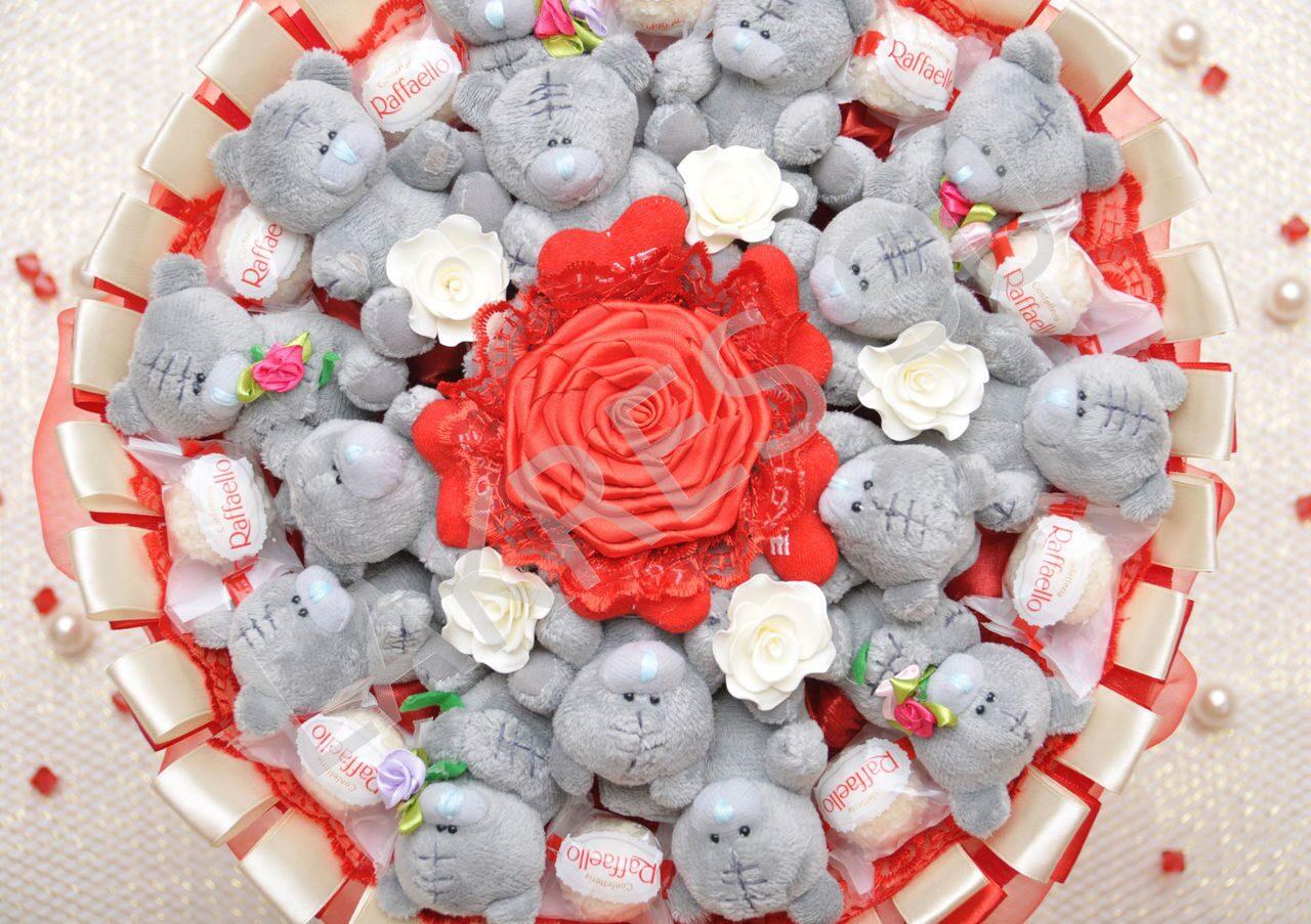 Букеты из игрушек: 30 фото, как сделать букеты из мягких игрушек